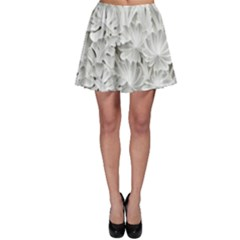 Pattern Motif Decor Skater Skirt