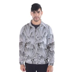 Pattern Motif Decor Wind Breaker (men)