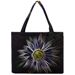 Flower Structure Photo Montage Mini Tote Bag