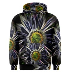 Flower Structure Photo Montage Men s Pullover Hoodie