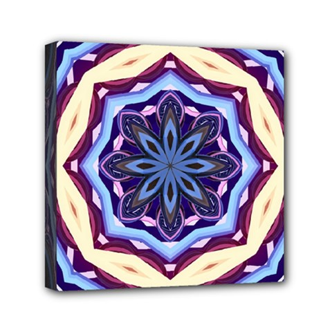 Mandala Art Design Pattern Mini Canvas 6  X 6