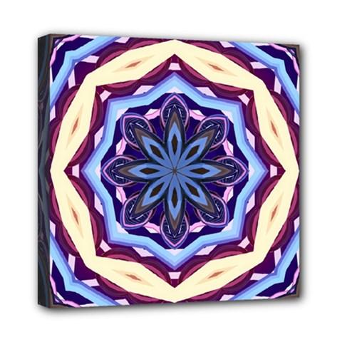 Mandala Art Design Pattern Mini Canvas 8  x 8