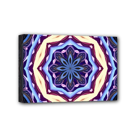 Mandala Art Design Pattern Mini Canvas 6  x 4