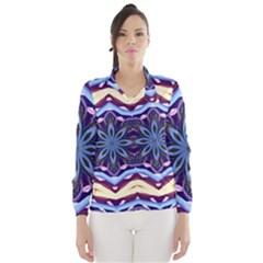 Mandala Art Design Pattern Wind Breaker (women)
