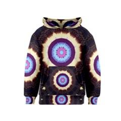 Mandala Art Design Pattern Kids  Pullover Hoodie