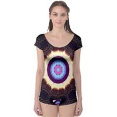 Mandala Art Design Pattern Boyleg Leotard