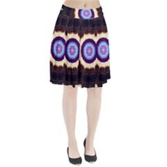 Mandala Art Design Pattern Pleated Skirt