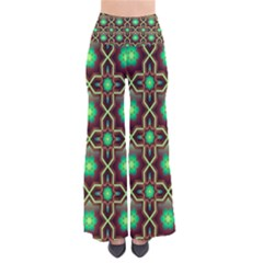 Pattern Background Bright Brown Pants