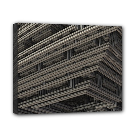 Fractal 3d Construction Industry Canvas 10  X 8