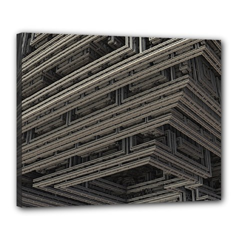 Fractal 3d Construction Industry Canvas 20  x 16