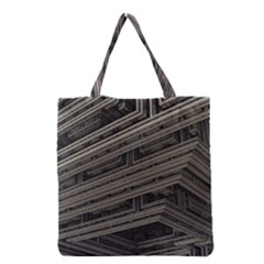 Fractal 3d Construction Industry Grocery Tote Bag