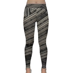 Fractal 3d Construction Industry Classic Yoga Leggings