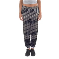 Fractal 3d Construction Industry Women s Jogger Sweatpants