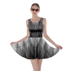 Feather Graphic Design Background Skater Dress