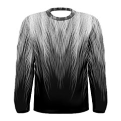 Feather Graphic Design Background Men s Long Sleeve Tee