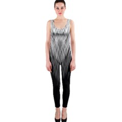 Feather Graphic Design Background OnePiece Catsuit