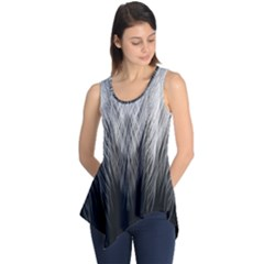 Feather Graphic Design Background Sleeveless Tunic