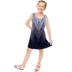 Feather Graphic Design Background Kids  Tunic Dress