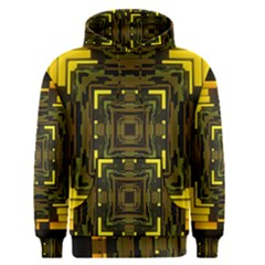 Abstract Glow Kaleidoscopic Light Men s Pullover Hoodie