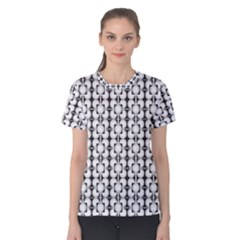 Pattern Background Texture Black Women s Cotton Tee