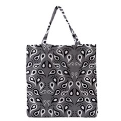 Paisley Pattern Paisley Pattern Grocery Tote Bag