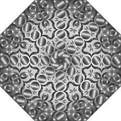Metal Circle Background Ring Folding Umbrellas