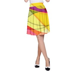 Abstract #367 A-Line Skirt