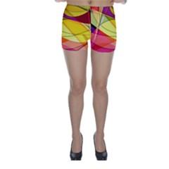 Abstract #367 Skinny Shorts