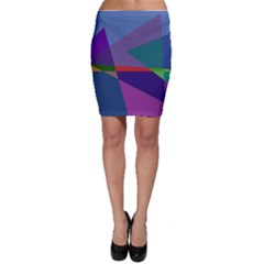 Abstract #415 Tipping Point Bodycon Skirt