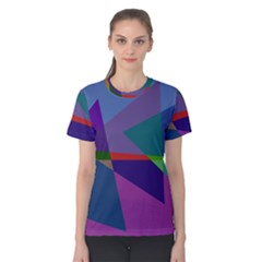 Abstract #415 Tipping Point Women s Cotton Tee