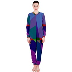 Abstract #415 Tipping Point OnePiece Jumpsuit (Ladies)