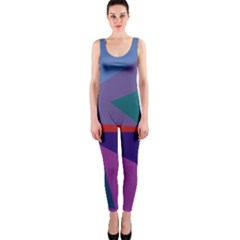 Abstract #415 Tipping Point OnePiece Catsuit