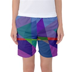 Abstract #415 Tipping Point Women s Basketball Shorts