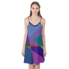 Abstract #415 Tipping Point Camis Nightgown