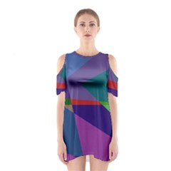 Abstract #415 Tipping Point Shoulder Cutout One Piece
