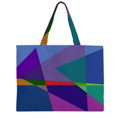 Abstract #415 Tipping Point Zipper Large Tote Bag