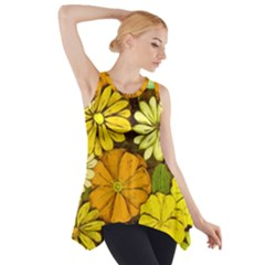 Abstract #417 Side Drop Tank Tunic