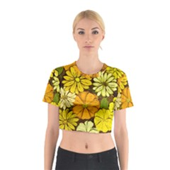 Abstract #417 Cotton Crop Top