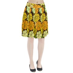 Abstract #417 Pleated Skirt