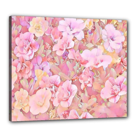 Lovely Floral 36a Canvas 24  x 20
