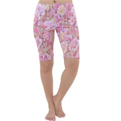 Lovely Floral 36a Cropped Leggings