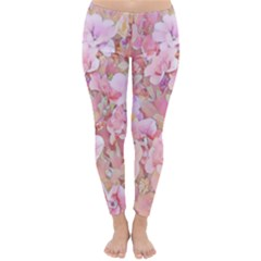 Lovely Floral 36a Classic Winter Leggings