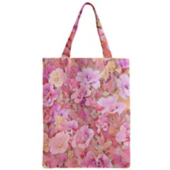 Lovely Floral 36a Zipper Classic Tote Bag