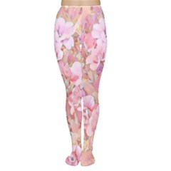 Lovely Floral 36a Women s Tights