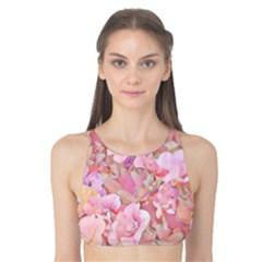 Lovely Floral 36a Tank Bikini Top