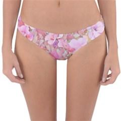 Lovely Floral 36a Reversible Hipster Bikini Bottoms