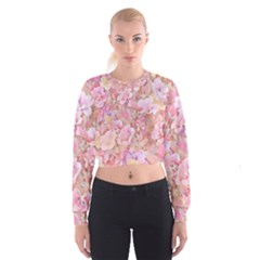 Lovely Floral 36a Cropped Sweatshirt