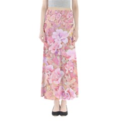 Lovely Floral 36a Full Length Maxi Skirt