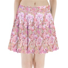 Lovely Floral 36a Pleated Mini Skirt