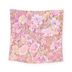 Lovely Floral 36a Square Tapestry (Small)